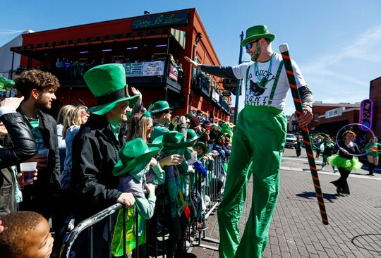 The Beale Street Merchants Association will present the annual Silky O'Sullivan St. Patrick's Day Parade through the world-famous entertainment district at 2 p.m. March 14.