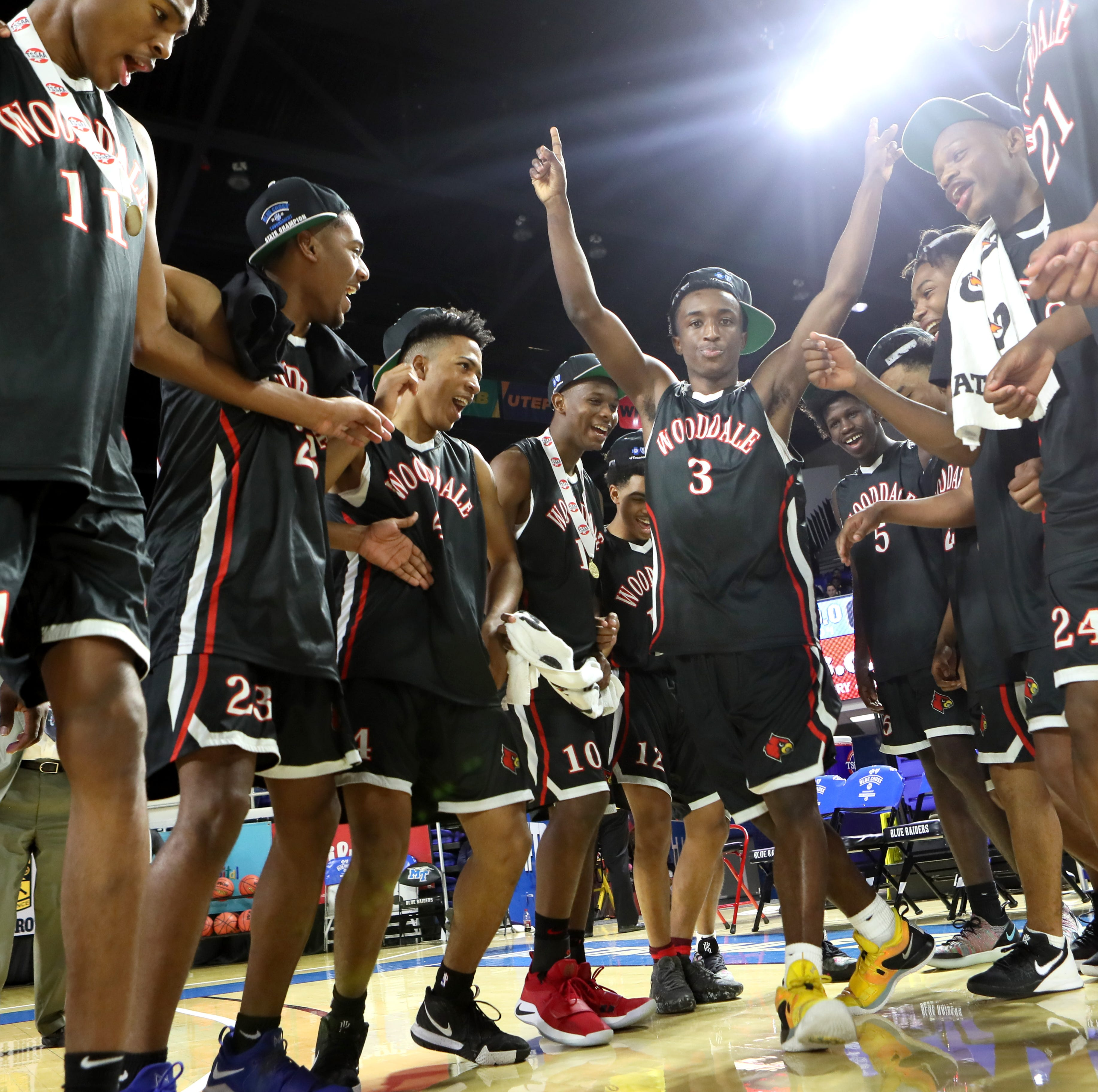 Chandler Lawson wins his fourth state title, as Wooddale wins first in boys basketball
