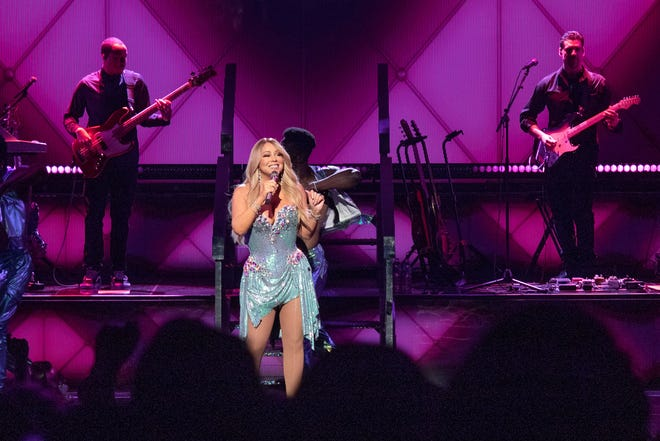 R&B superstar Mariah Carey performed in Milwaukee for the first time ever at the Miller High Life Theatre on March 15, 2019.