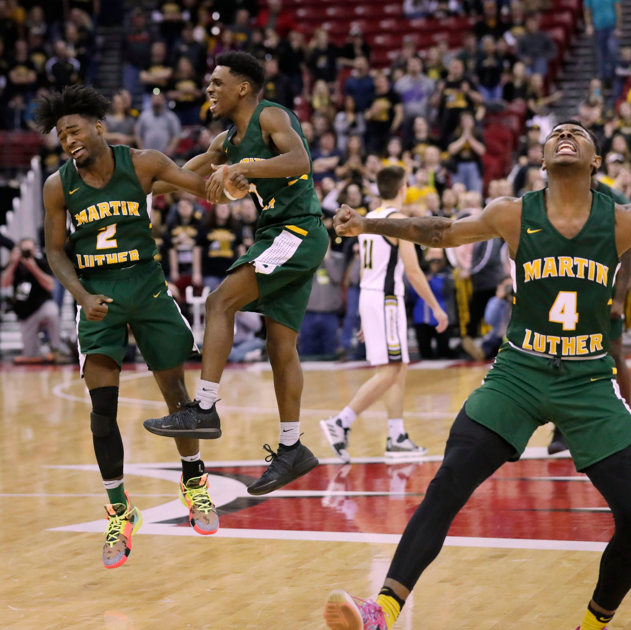 Martin Luther's backcourt does the job one last time and leads the school to its first state championship