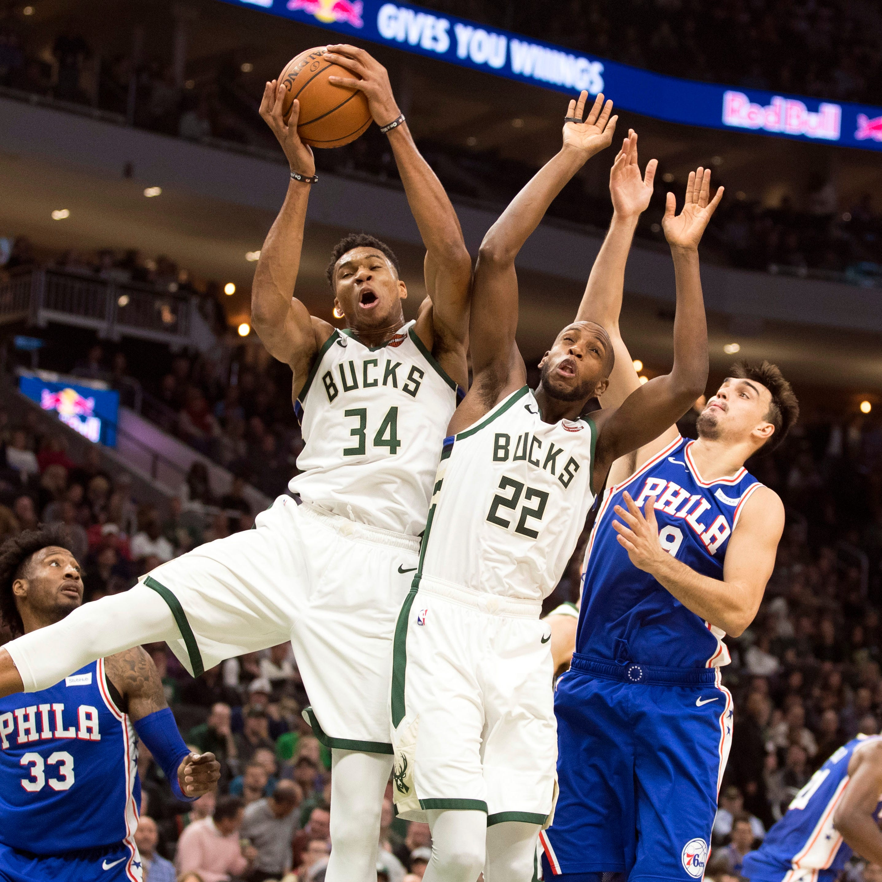 The Bucks and 76ers will get their first real look at each other in a Sunday showcase on ABC