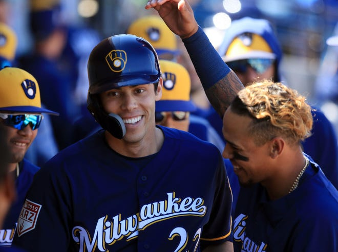 Christian Yelich is the reigning NL MVP.