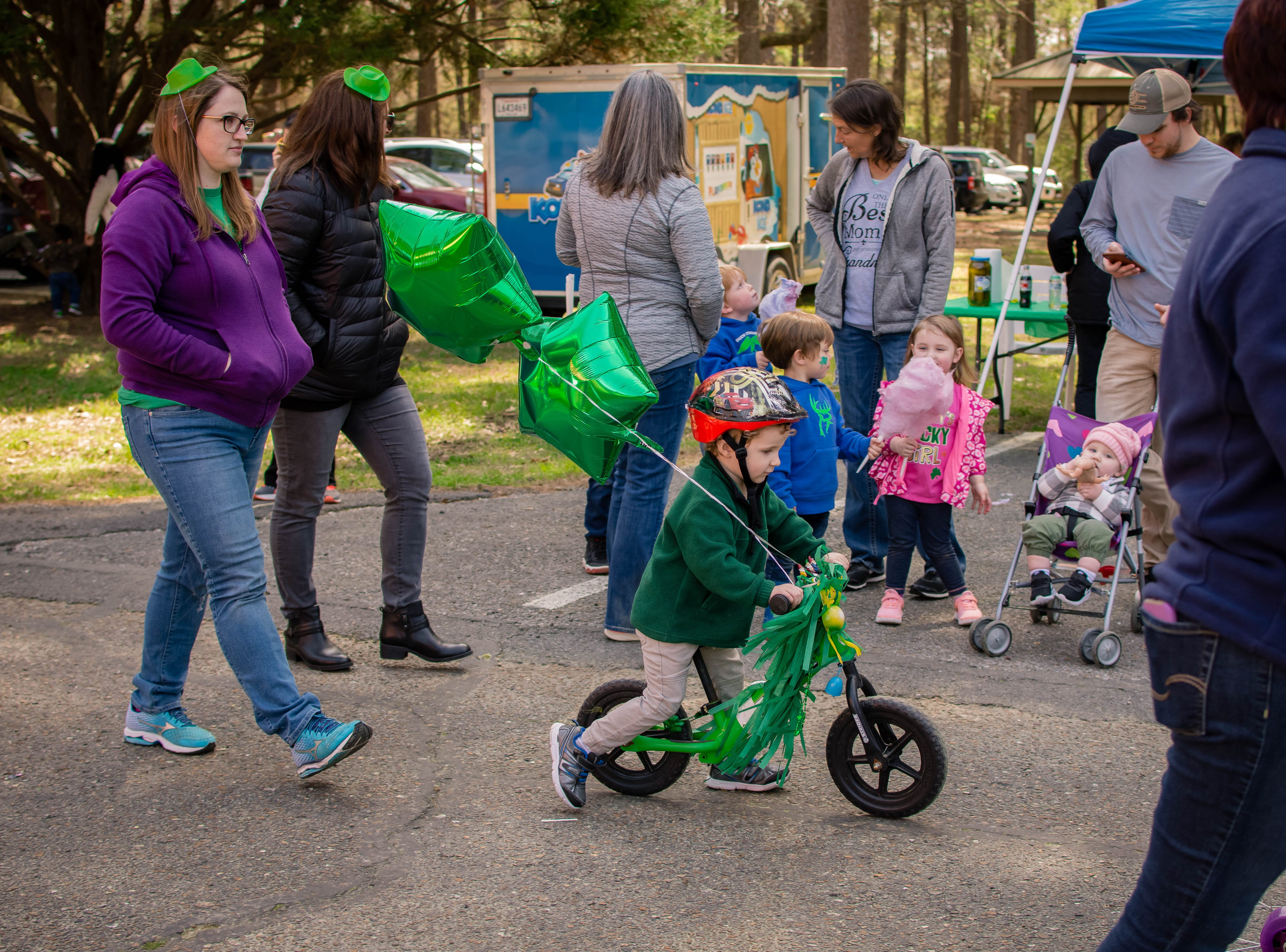 The West Monroe-West Ouachita Chamber of Commerce held their annual St. Patrick's bicycle parade and festival in Kiroli Park in West Monroe, La. on March 16.