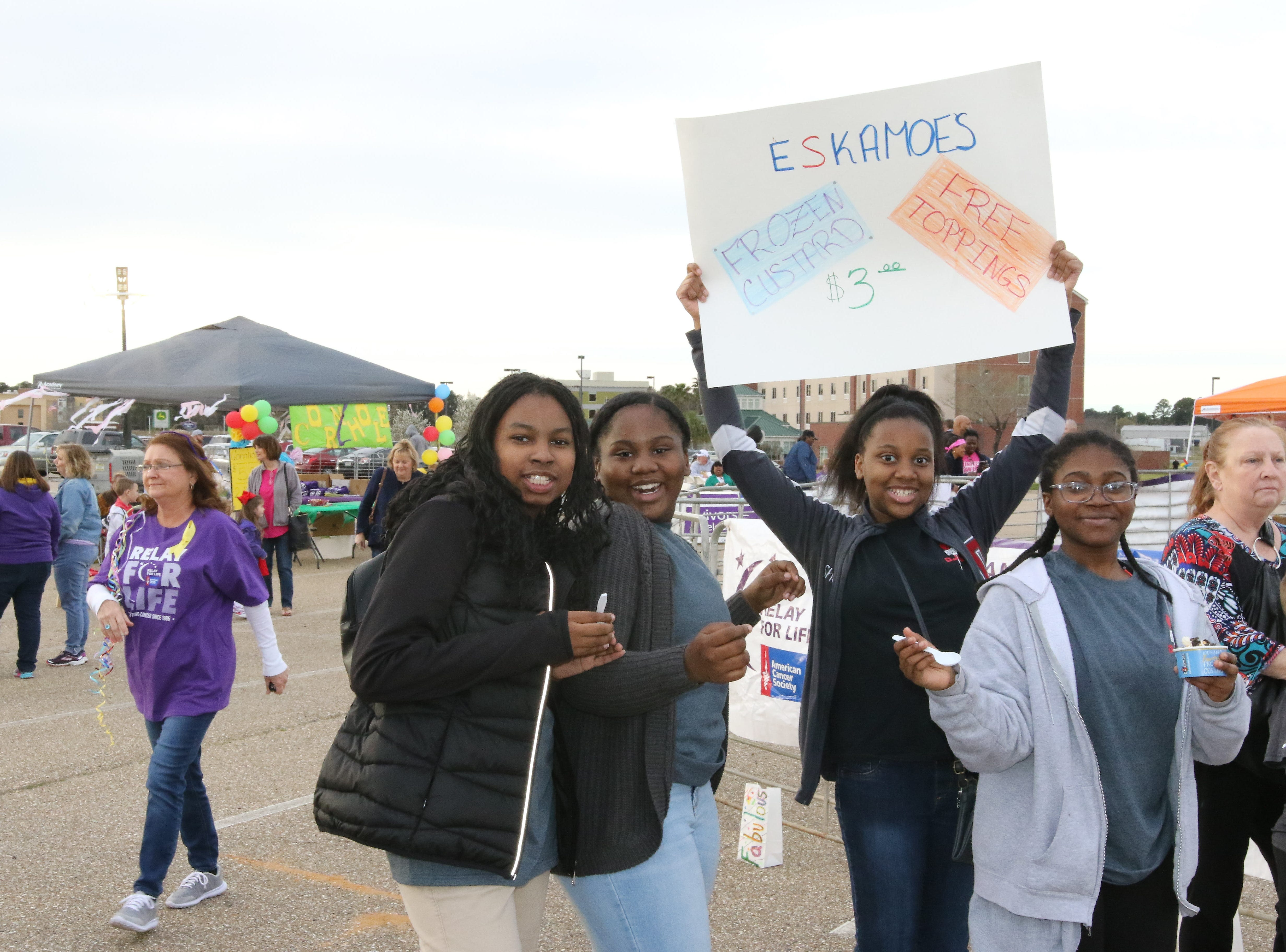 American Cancer Society's 2019 Relay for Life was held at the Ike Hamilton Expo Center on Friday, March 15.