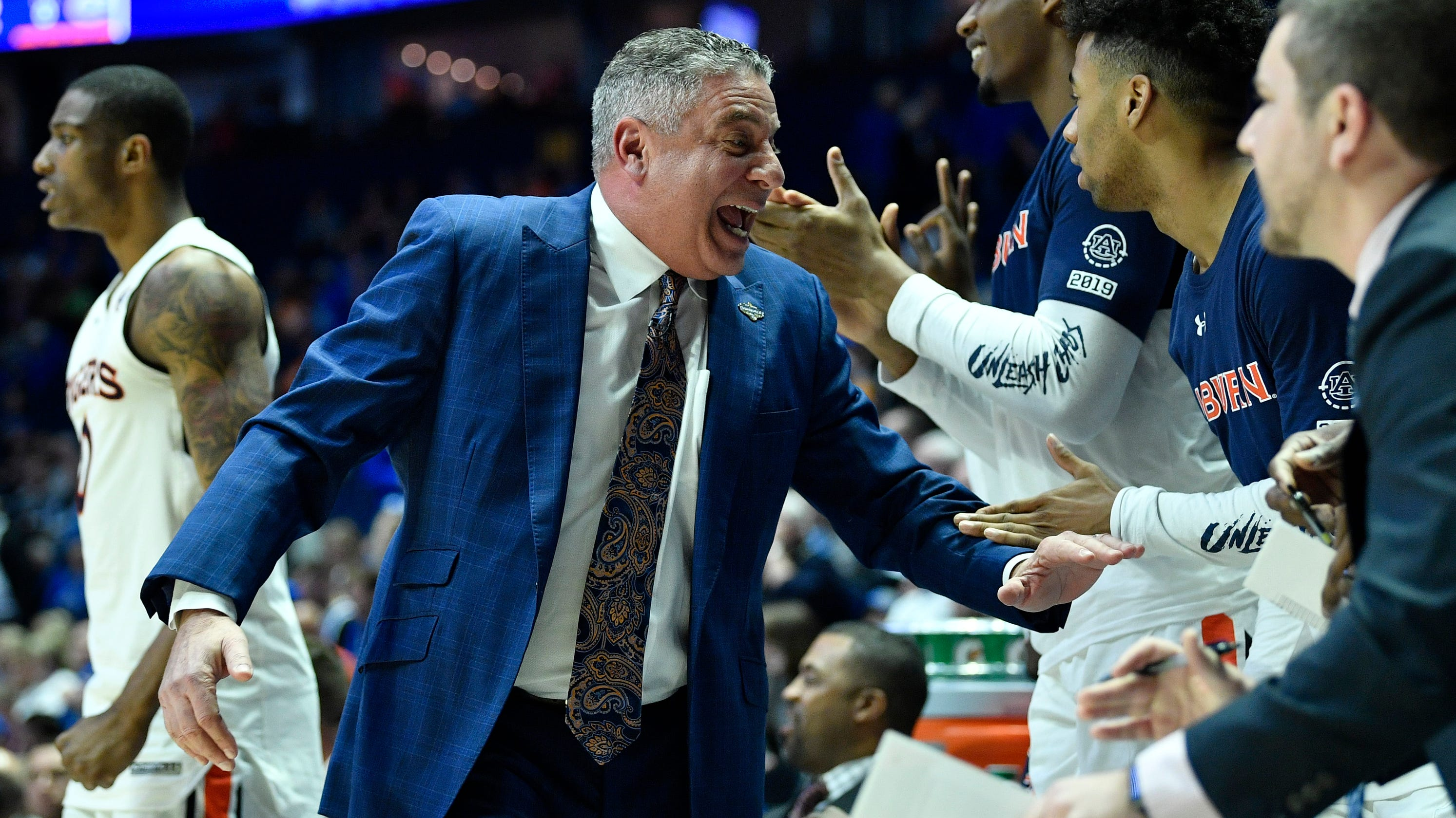 Bruce Pearl Vs Tennessee For First Auburn Sec Tournament