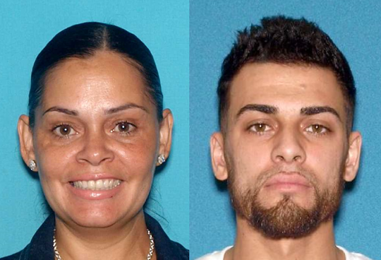 Connie Rivera, 48; and Jason Rivera, 27, both of Paterson.