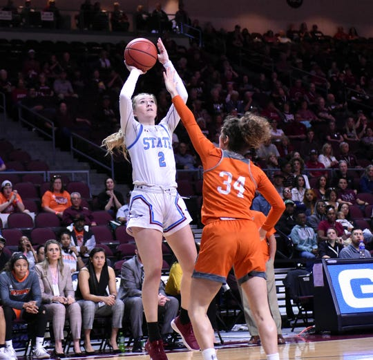 Former New Mexico State women's basketball player Brooke Salas signed a WNBA training camp contract with the Seattle Storm.