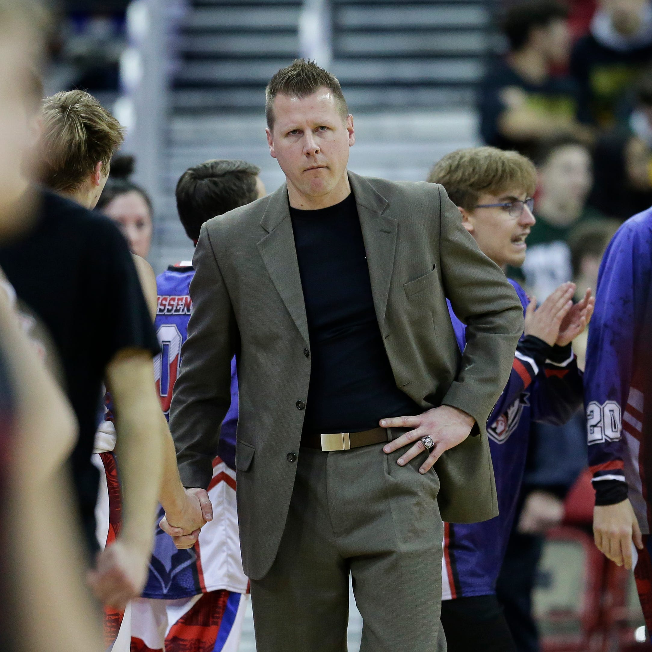 Lourdes Academy boys basketball coach Brad Clark steps down from program