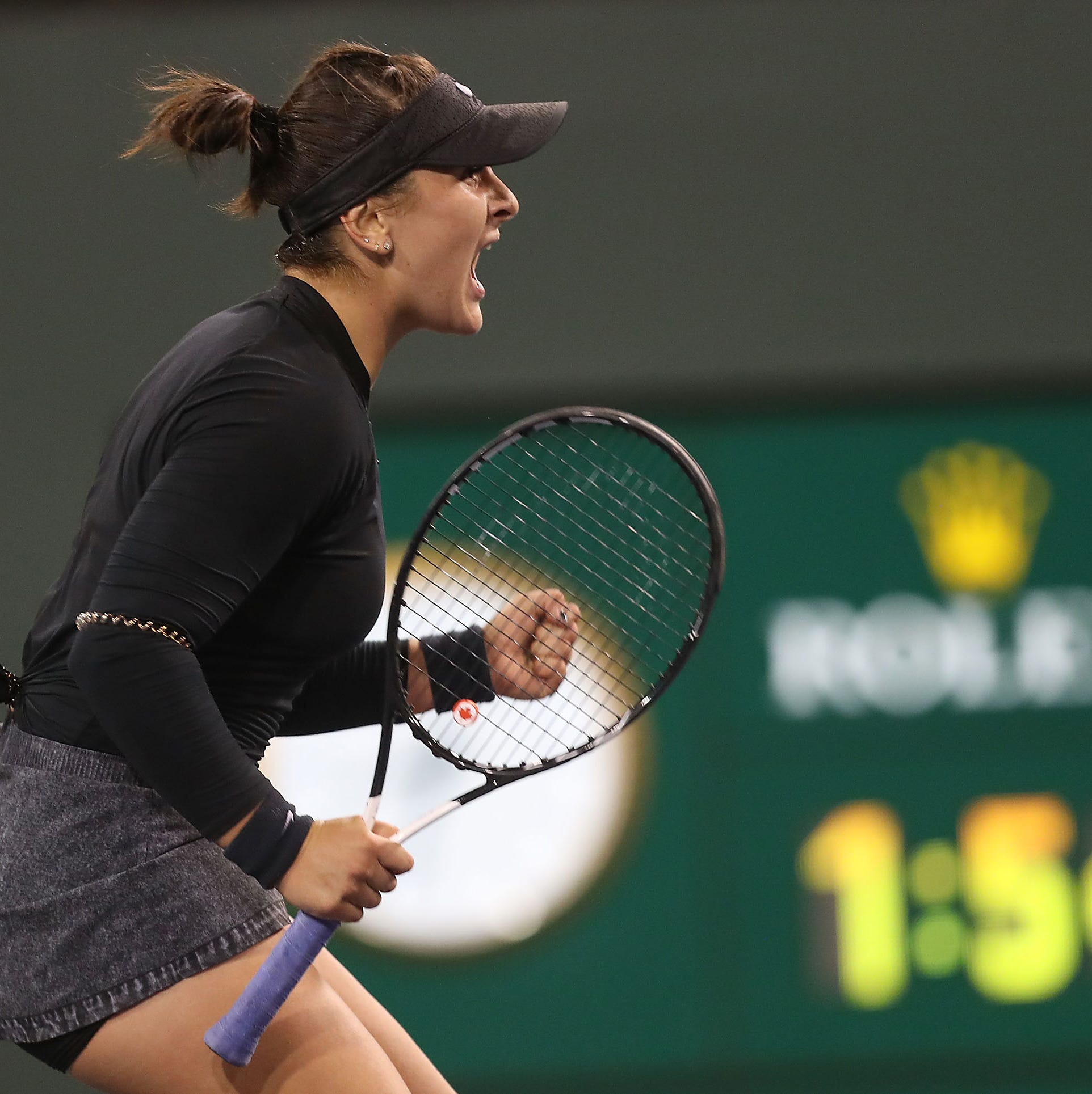 She's only 18, but Canadian Bianca Andreescu makes final, history at BNP Paribas Open