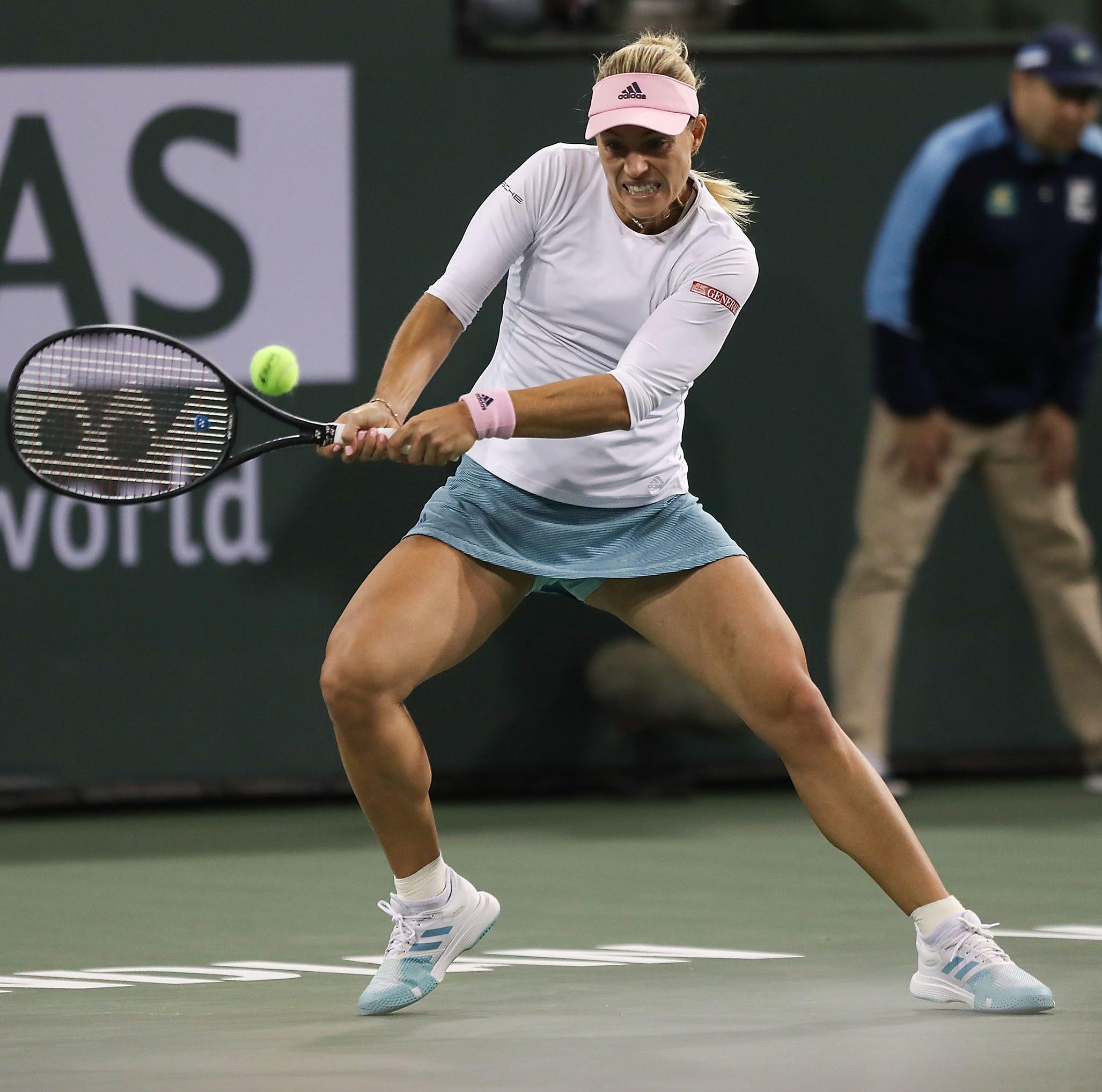 Angelique Kerber has BNP Paribas Open breakthrough, advances to first Indian Wells final