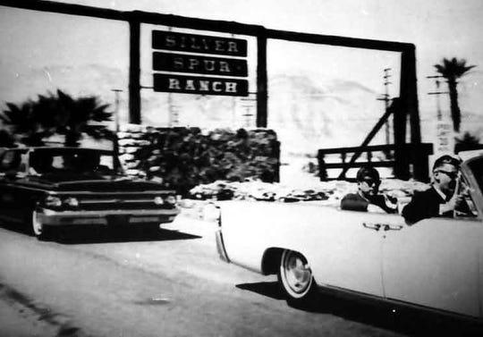 JFK leaving Silver Spur Ranch