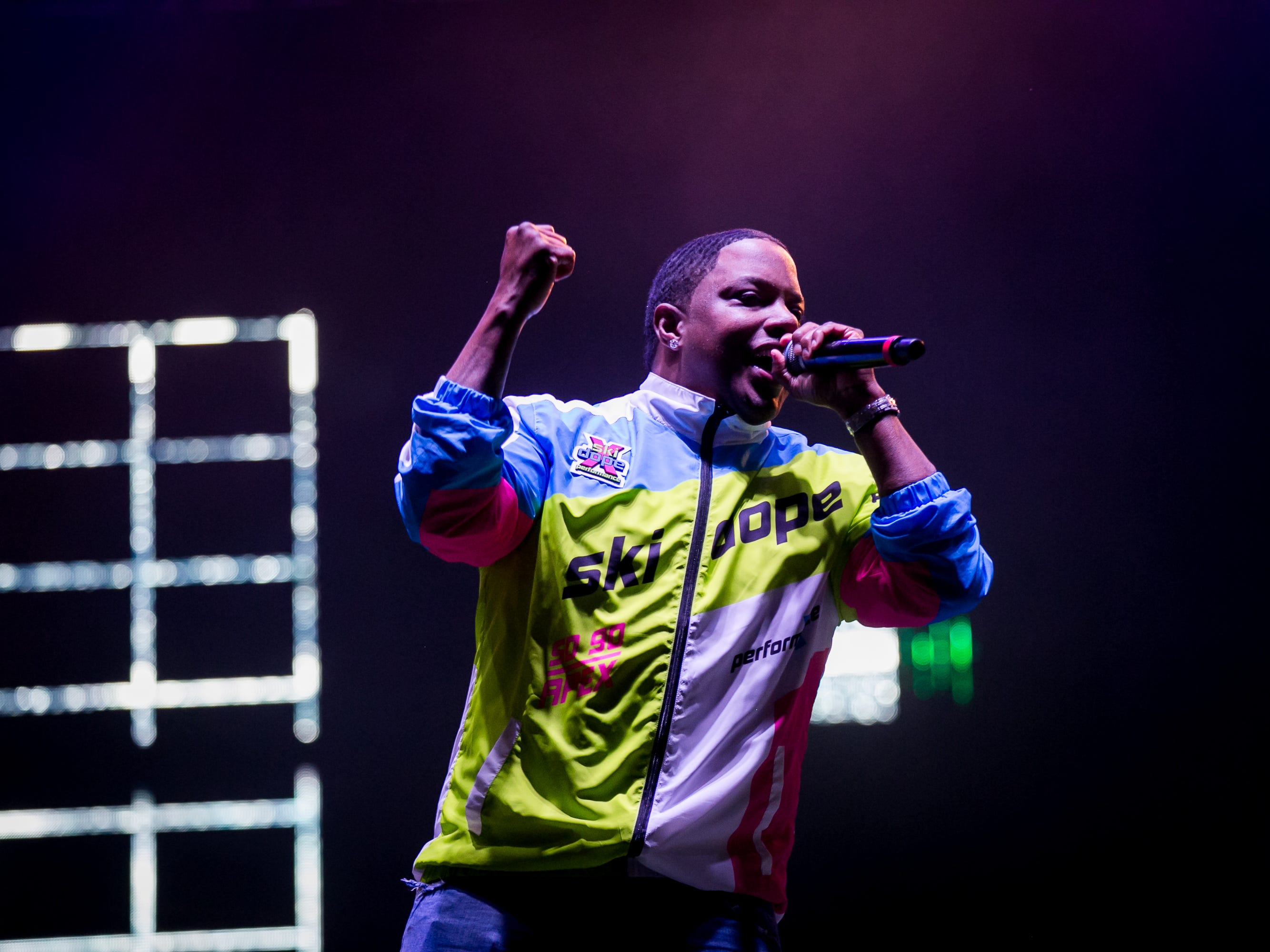 Mase performs at Pot of Gold Music Festival at Steele Indian School Park in Phoenix on Friday, March 15.