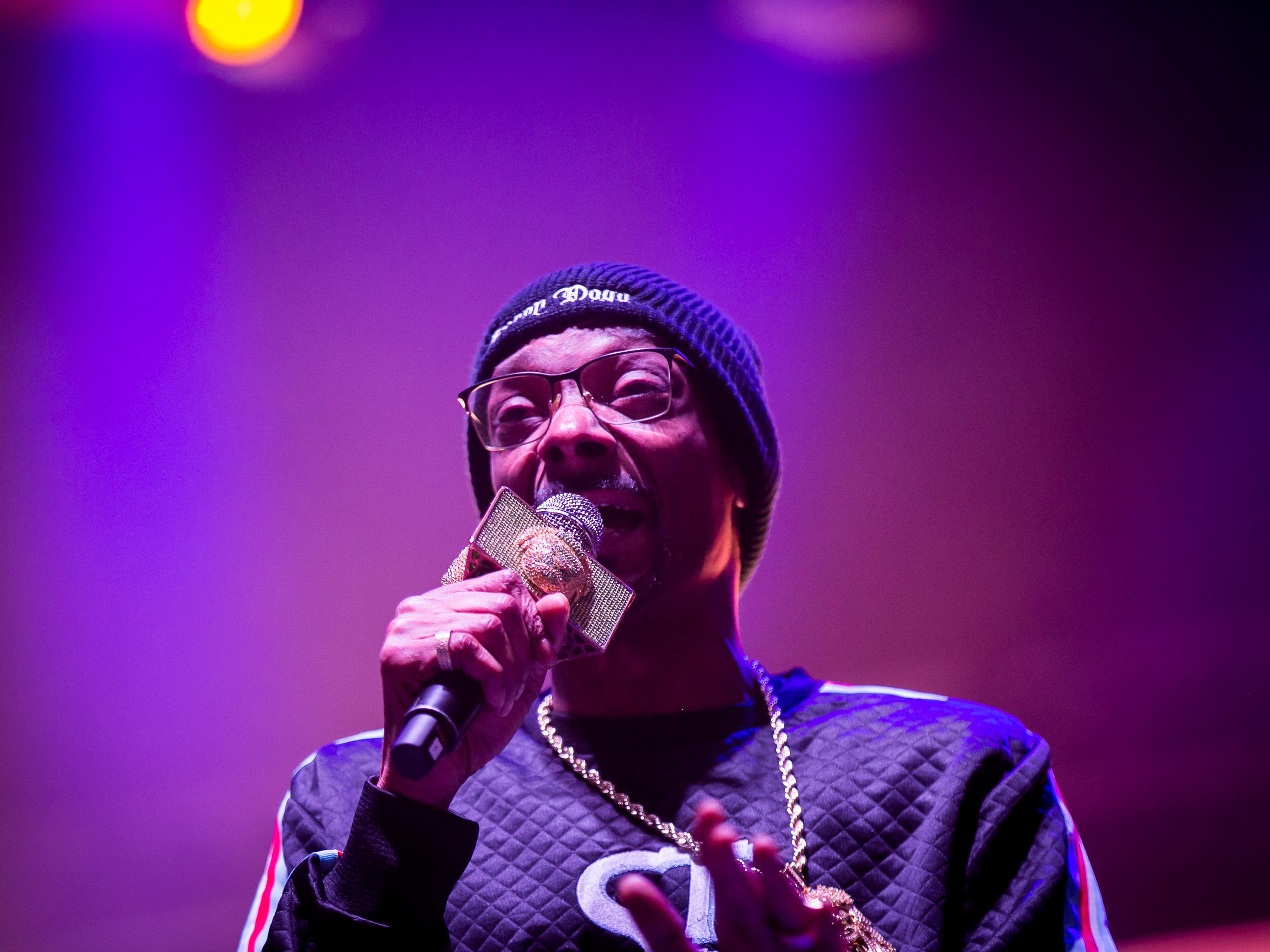 Snoop Dogg performs at Pot of Gold Music Festival at Steele Indian School Park in Phoenix on Friday, March 15.