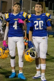 Brothers Coben, left, and Treyson Bourguet are transferring from Marana to Salpointe.