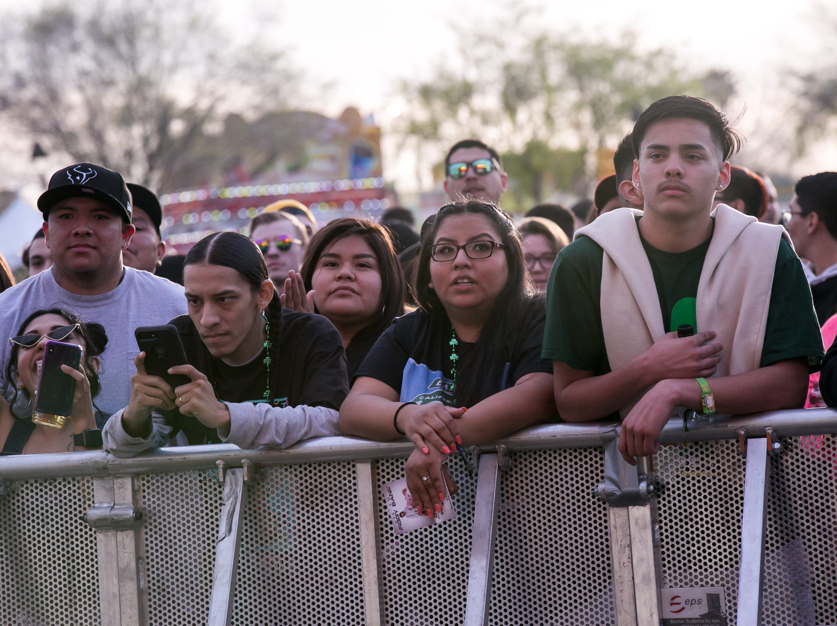 Disorganization at Pot of Gold Music Festival at Steele Indian School Park caused some issues on Friday, March 15, 2019.