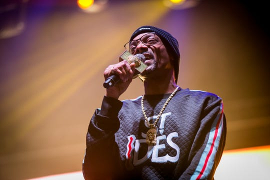Snoop Dogg performs at Pot of Gold Music Festival at Steele Indian School Park in Phoenix