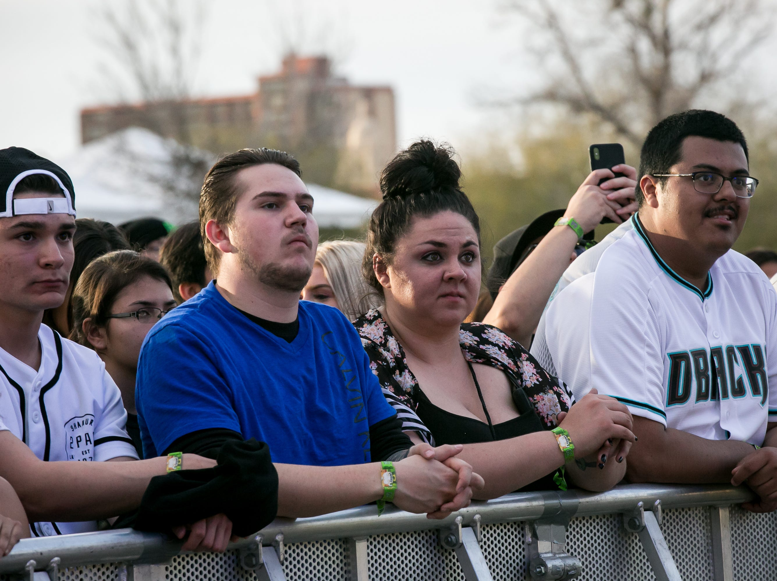 There were long wait times at Pot of Gold Music Festival at Steele Indian School Park on Friday, March 15, 2019.