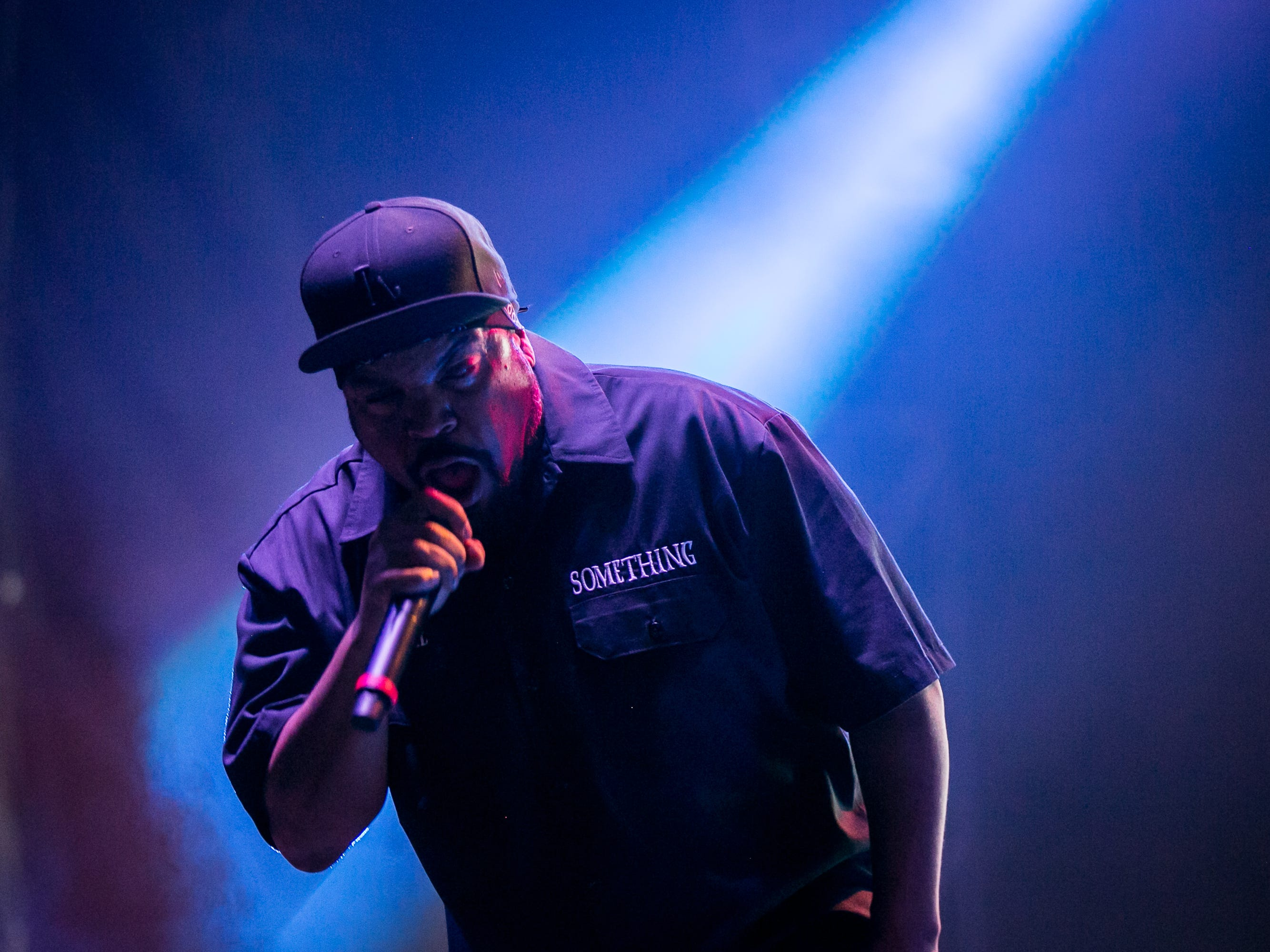 Ice Cube performs at Pot of Gold Music Festival at Steele Indian School Park in Phoenix on Friday, March 15.