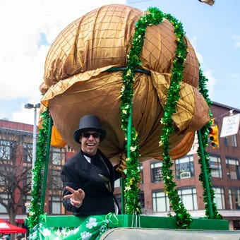 The 36th Annual St. Patricks Day Parade marched through York City, Saturday, March 16, 2019. See the video.