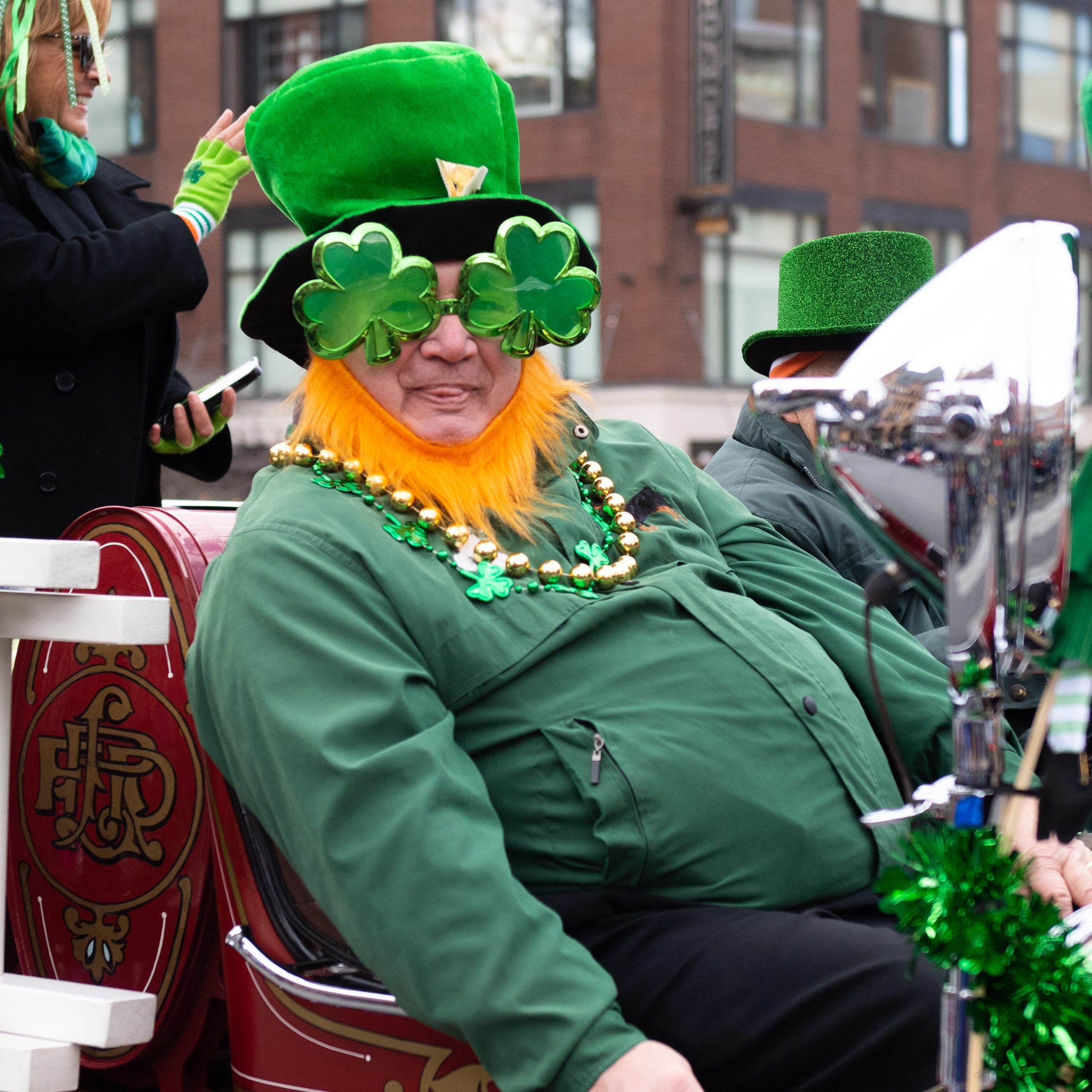 York Saint Patrick's Day parade float, group winners