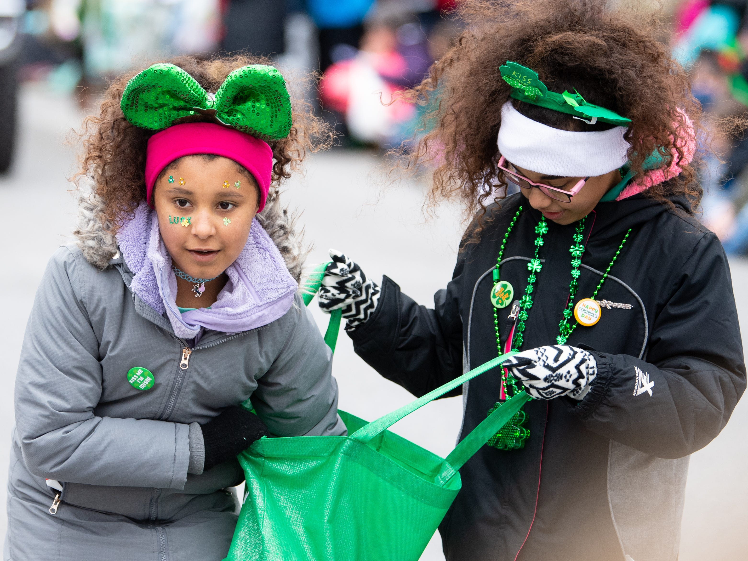 Action from the 36th Annual St. Patrick's Day Parade in York City, March 16, 2019.