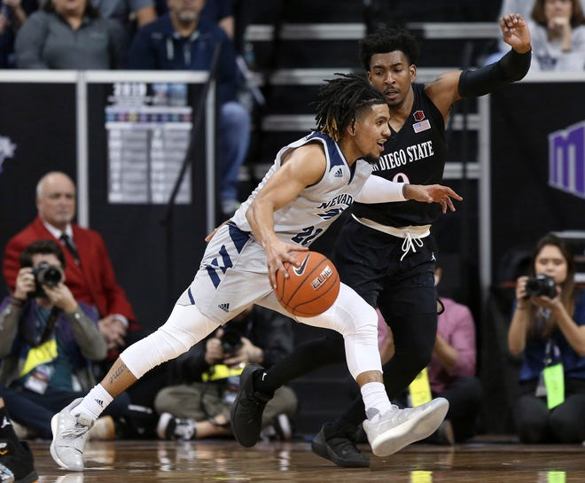 Jazz Johnson, the Mountain West's reigning sixth man of the year, is the Wolf Pack's top returning player from last season's 29-5 team.