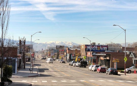 The Midtown Reno neighborhood on March 14, 2019.