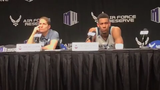 Nevada head coach Eric Musselman discusses the Wolf Pack's loss in the Mountain West Tournament.