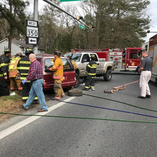 Maryland State Police is investigating this Mt. Hermon Road crash in Salisbury on March 15, 2019 that killed one person.
