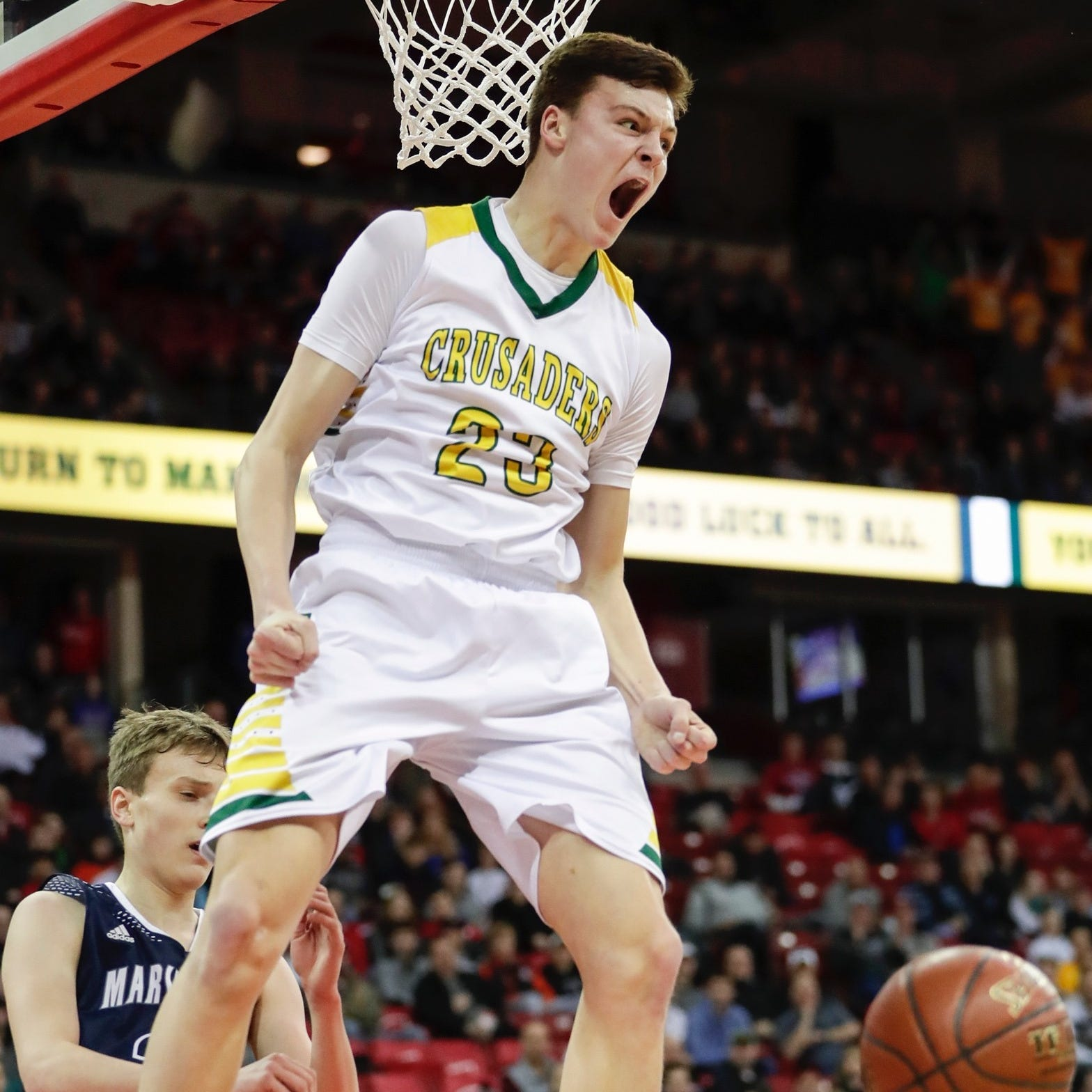WIAA state basketball: Jacob Ognacevic leads Sheboygan Lutheran to Division 5 title