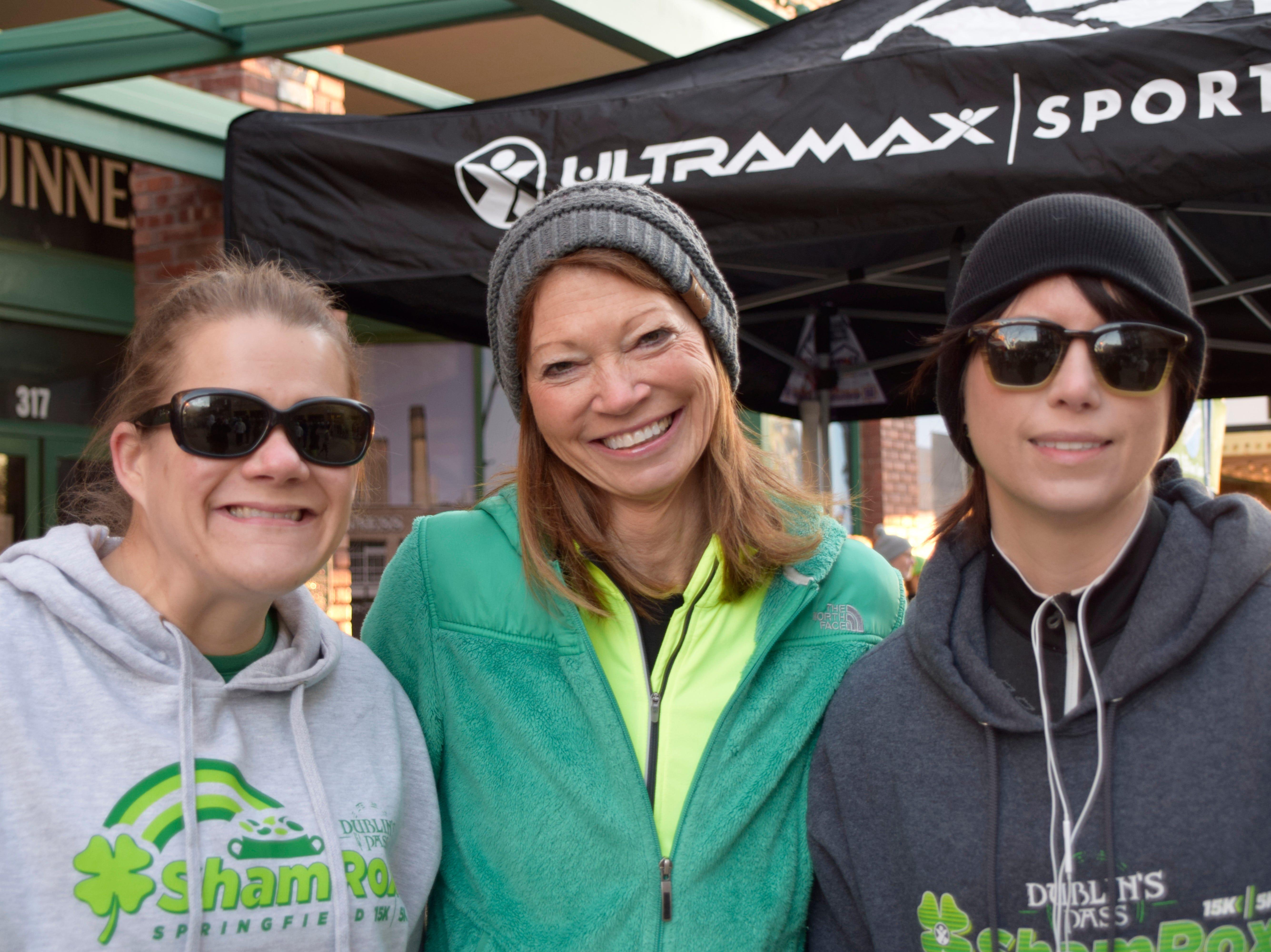 Sarah Limb, Laura Evans and Jodi Sherrell
