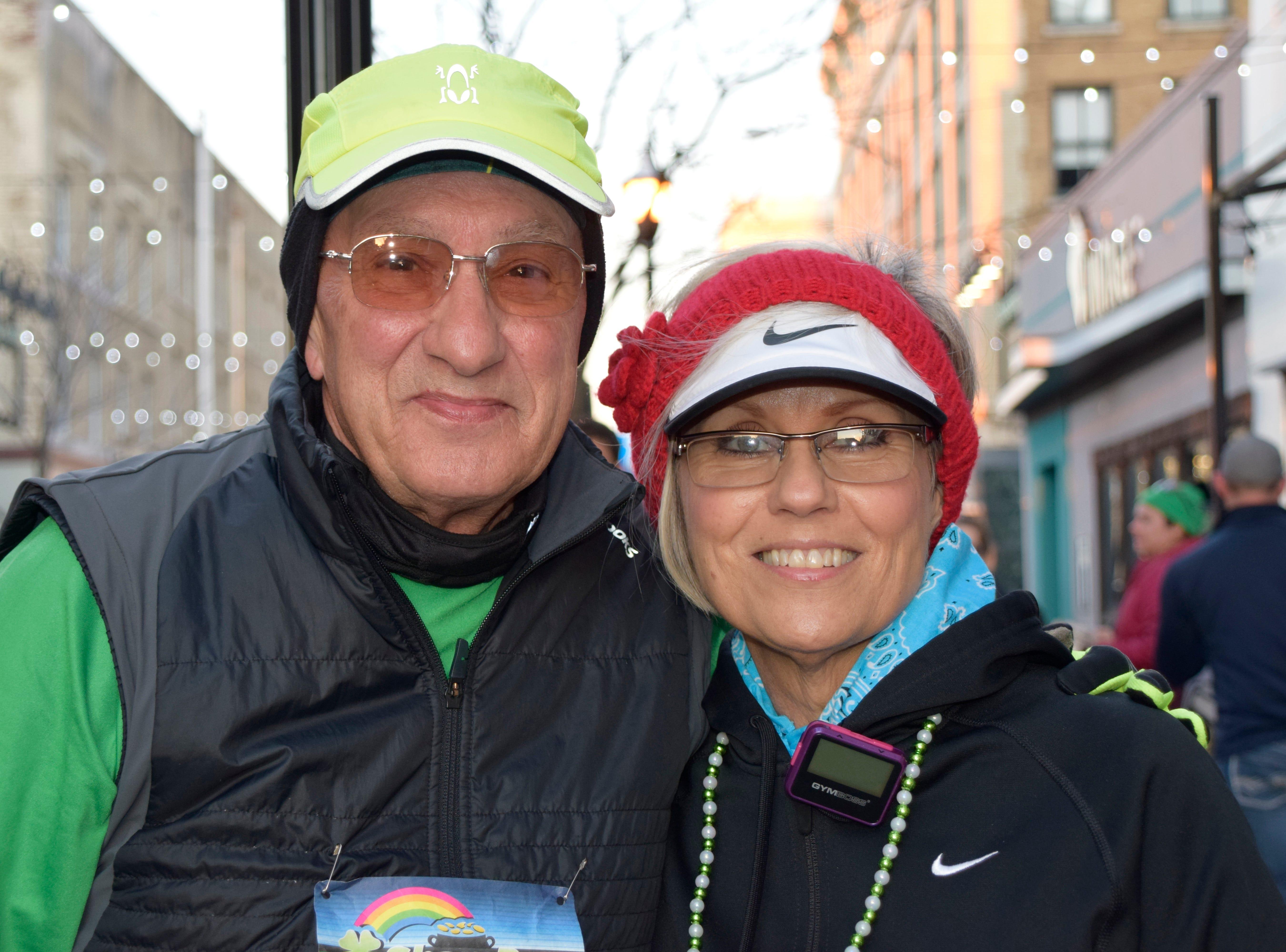 Bob Varusa and Pat Dedid