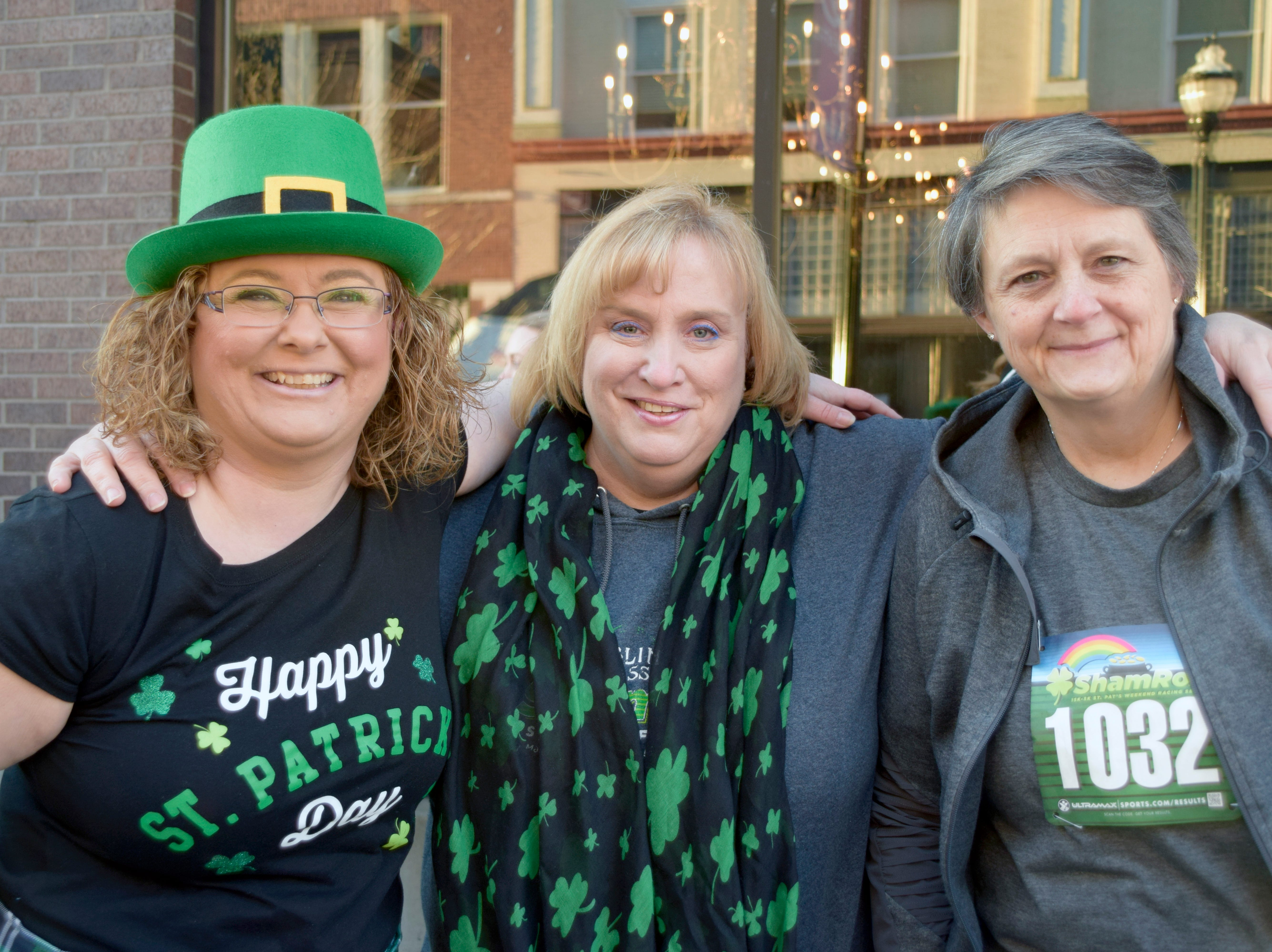 Laurie Larsen, Trish Lents and Charlotte Skaggs