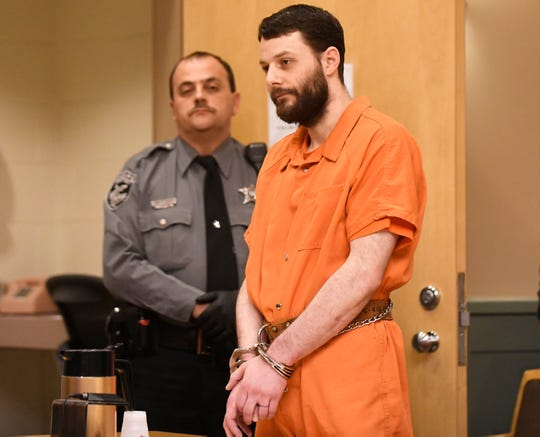 Jeremiah E. Monell, who stabbed and slashed his estranged wife to death, was sentenced in Cumberland County Superior Court to spend the rest of his life in a state prison on Friday, Mar. 15, 2019.