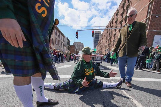 Thousands of spectators attended the 44th annual St. Patrick's Day Parade in Wilmington last year.
