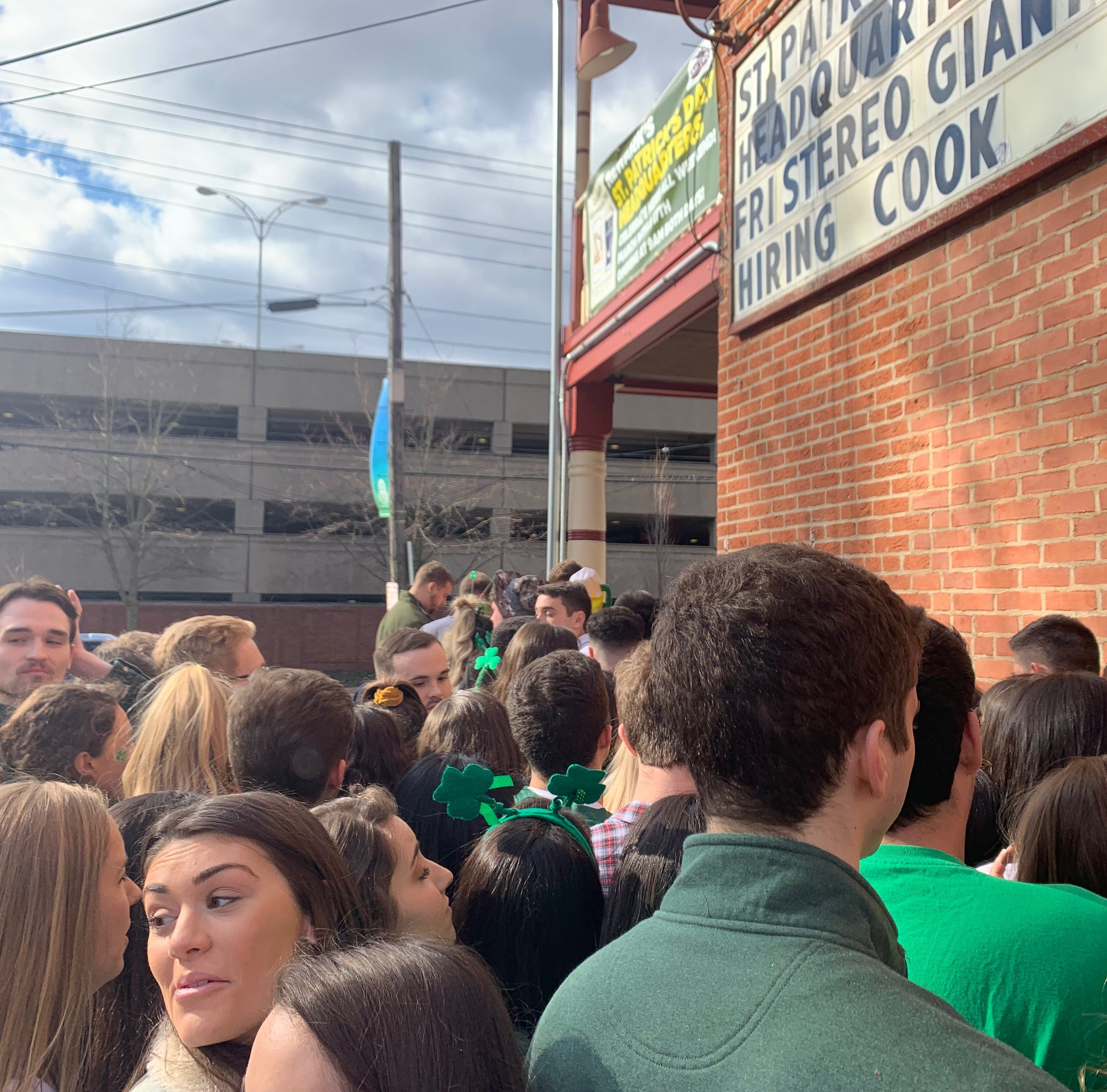 UD students crowd bars, avoiding newly restricted 'super parties' on St. Patrick's Day weekend