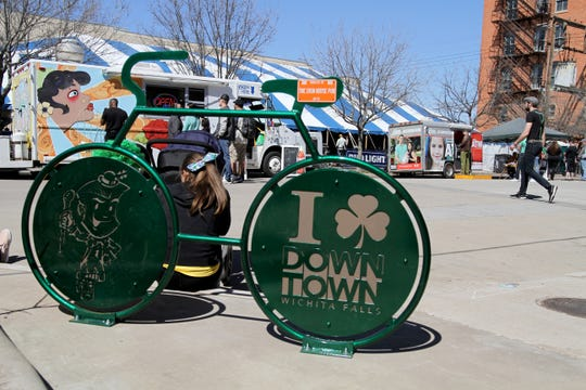 The annual St. Patrick's Day festival will be held Saturday, March 14, 2020, from 2 - 10 p.m.on the corner of 8th and Indiana in historic downtown Wichita Falls.