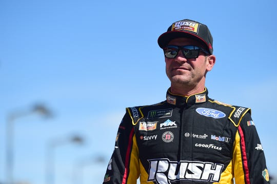 "Clint Bowyer says, ""I am a little bit out of patience now with Fridays."""