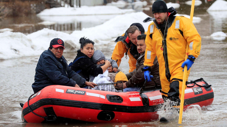 Nebraska flooding: Worst in 50 years following bomb cyclone