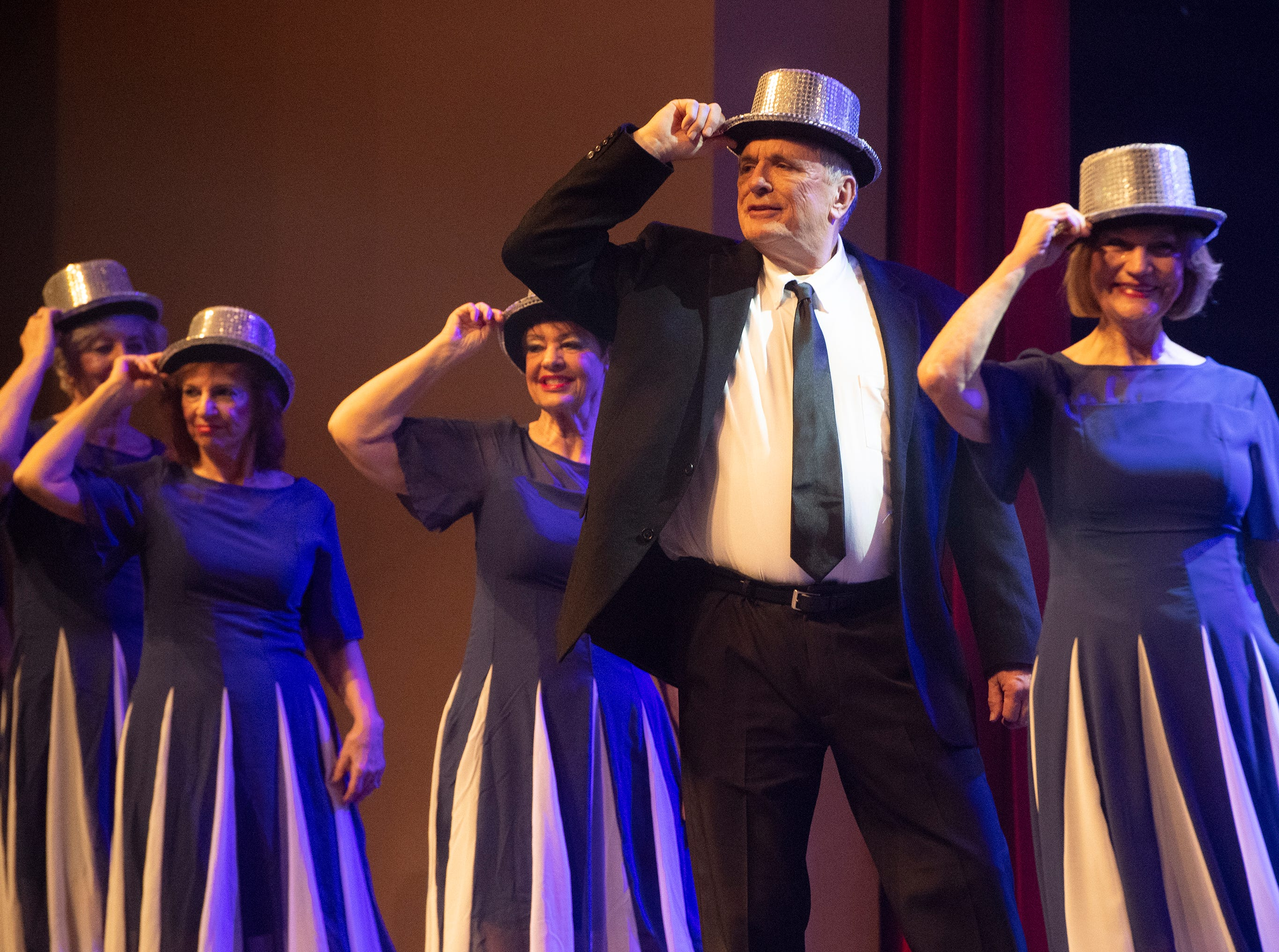 The Anderson Senior Follies show, A Class Act, took place at Anderson University's Henderson Auditorium Saturday, Mar. 16, 2019.