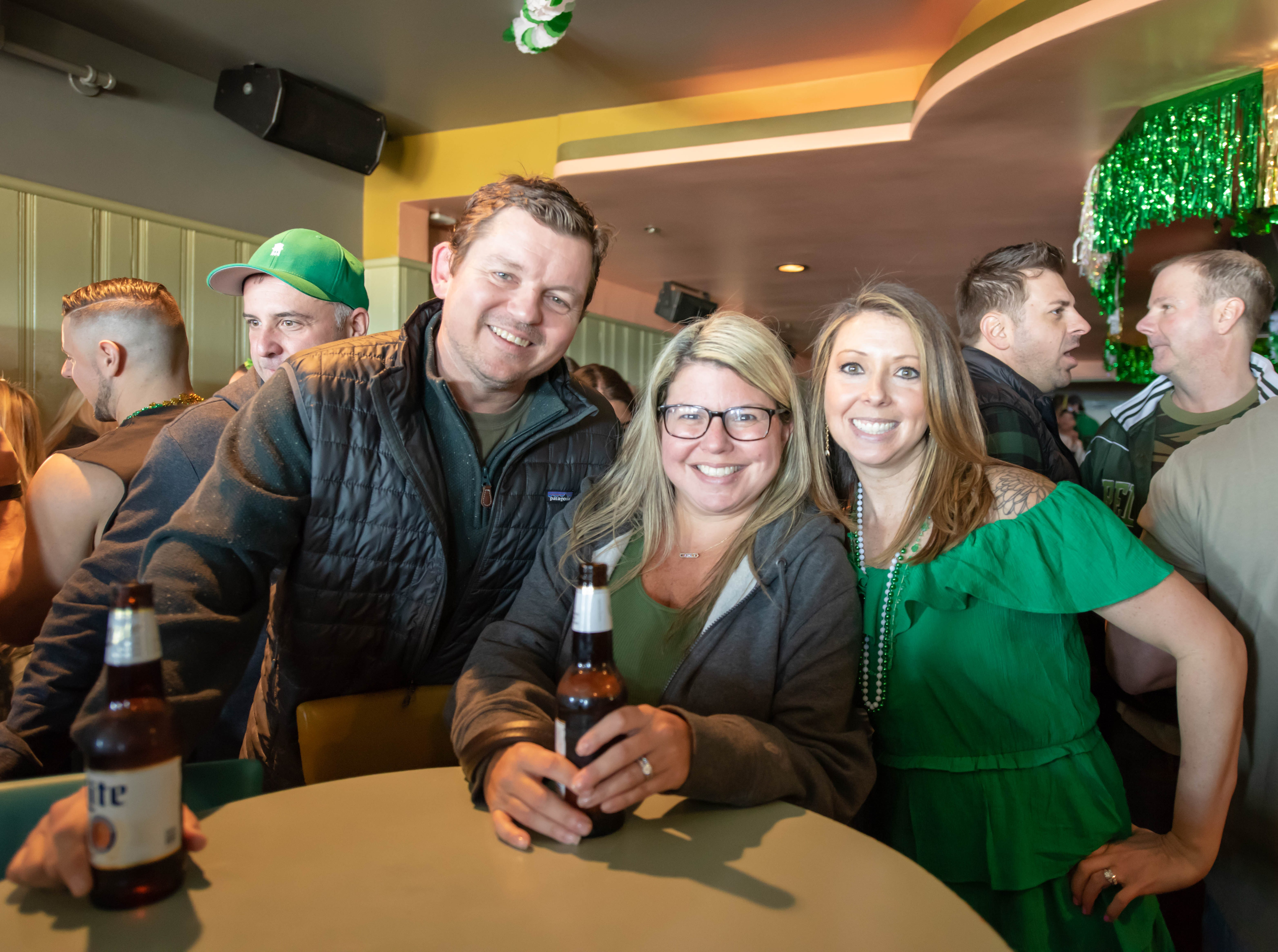 St. Patrick's Day party at D'Jais in Belmar  on March 17, 2019.
