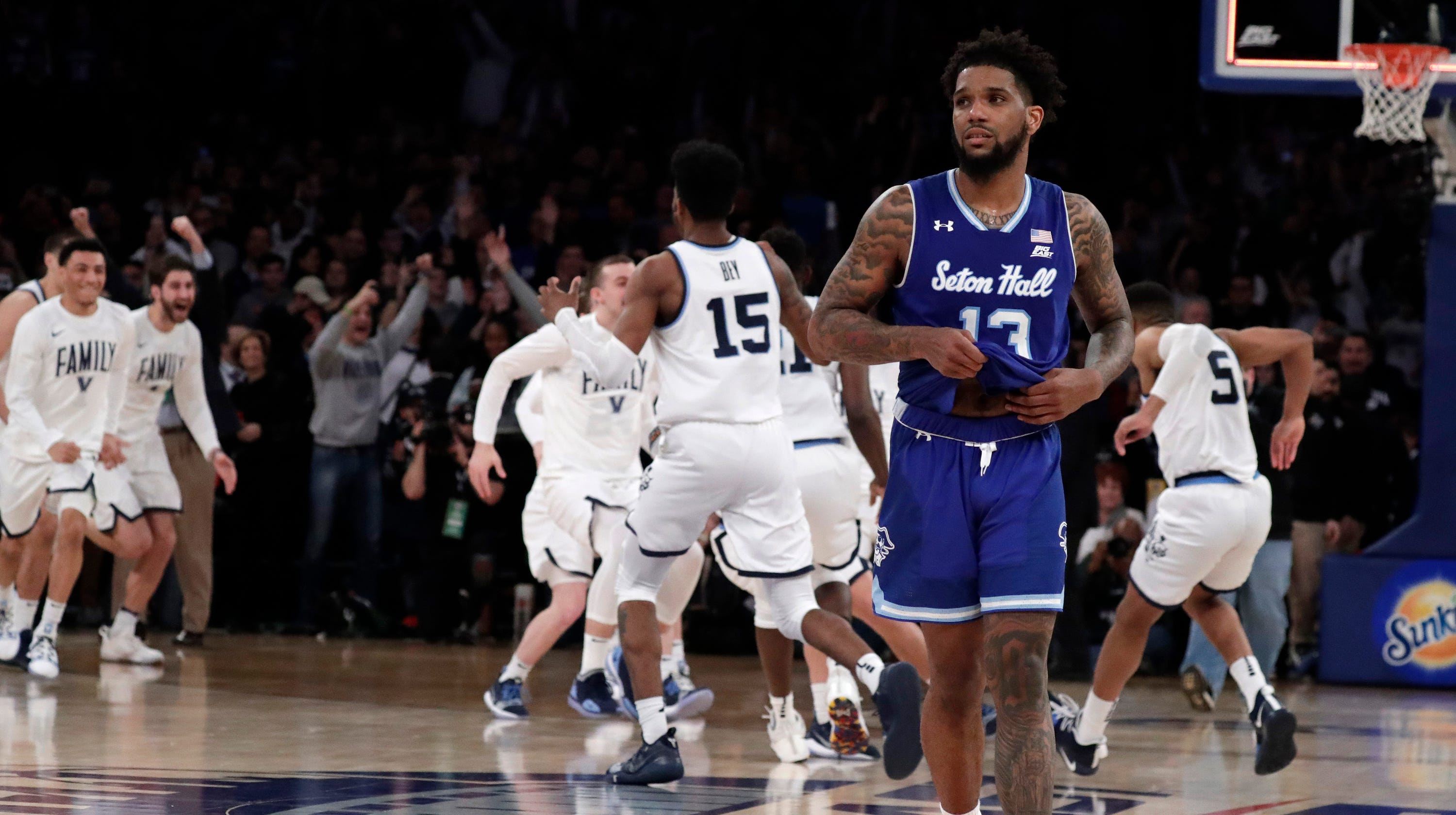 ade1b1583e57 Seton Hall basketball  Rally falls just short to Villanova in Big East  Tournament final