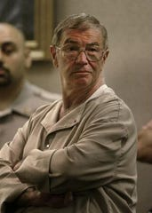 "Aurelio ""Ray"" Cagno in court to be sentenced for the murder of mob soldier James V. Randazzo in Tinton Falls"