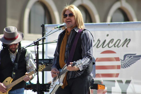 Whiskey Diamond and his band, American Petty, sang the best know songs of the late singer Saturday at Kent's Harley-Davidson on March 16, 2019.