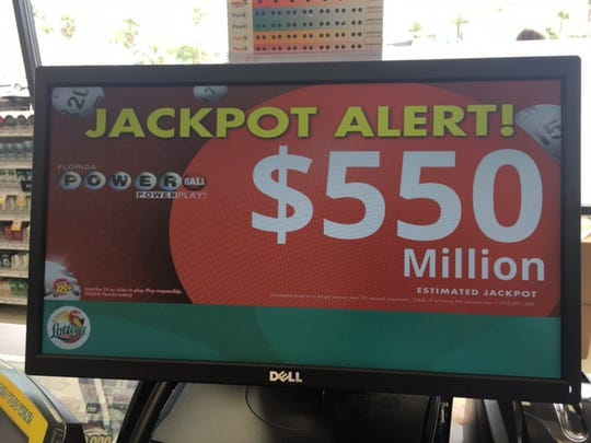 Powerball jackpot eclipses half a billion dollars.