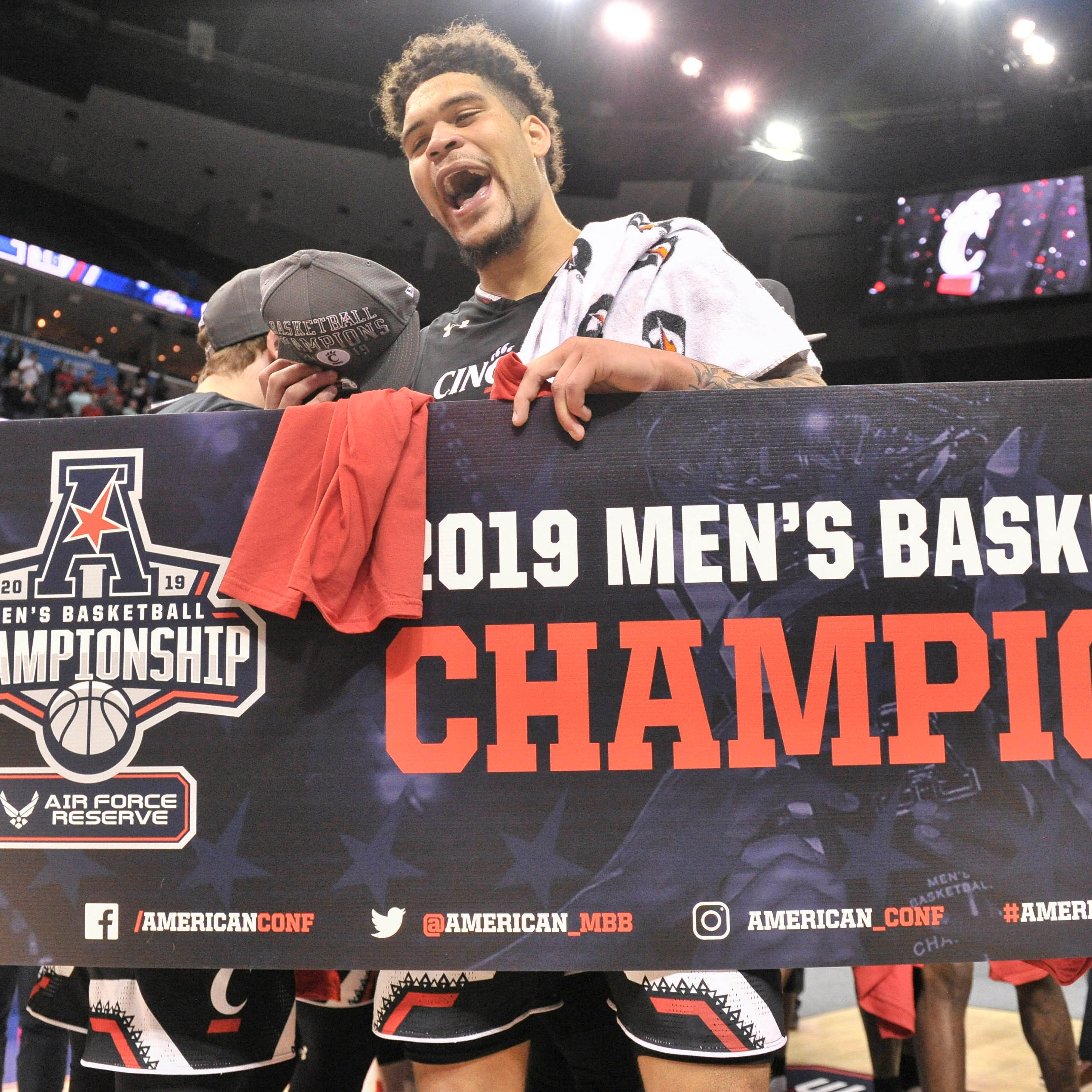 March Madness: UC Bearcats are a 7 seed in 2019 NCAA Tournament, will play Iowa in Columbus