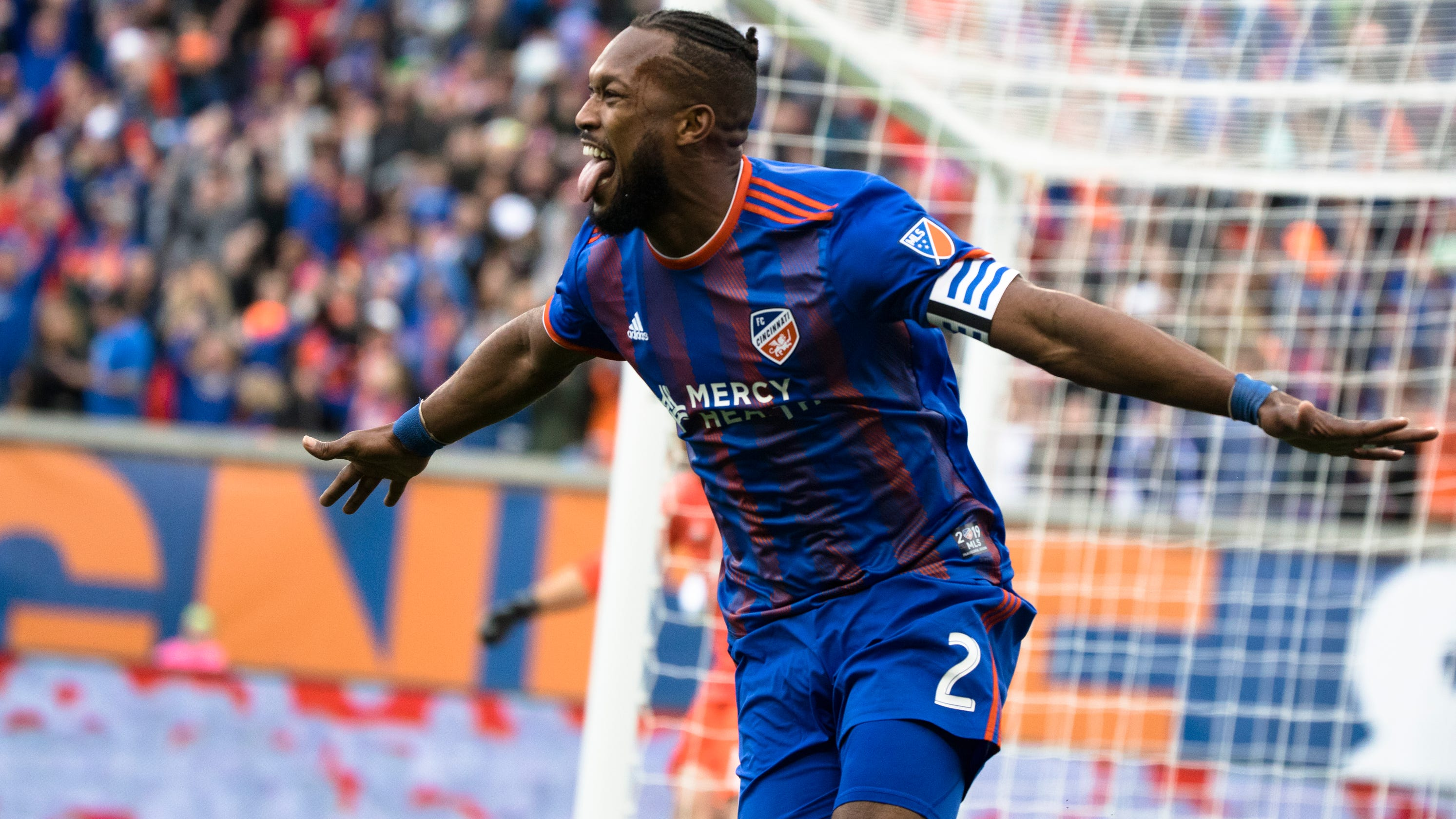 official photos c00b8 3d7f8 FC Cincy smashes Portland Timbers in MLS home debut, 3-0