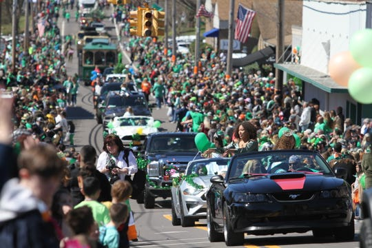 Erin, Tennessee was the site of the 57th annual Wearin' of the Green Irish Day Parade on Saturday, March 16, 2019.