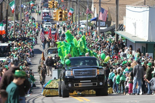 Erin, Tenn., was the site of the 57th annual Wearin' of the Green Irish Day Parade on March 16, 2019.