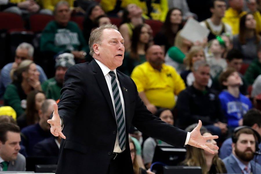Tom Izzo picked up Wins 600-602 this weekend. 600-602? That's about how many times he got asked Sunday night about getting placed into a region with old nemesis Coach K.